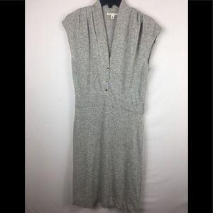 Banana republic wool blend / cashmere dress  M